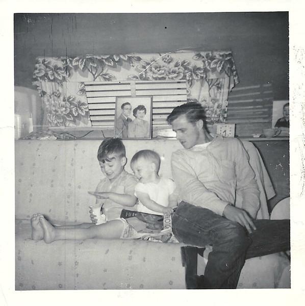 John, Dennis, Dad (William)