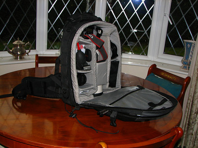 my main camera bag ...lowepro nature trekker AW