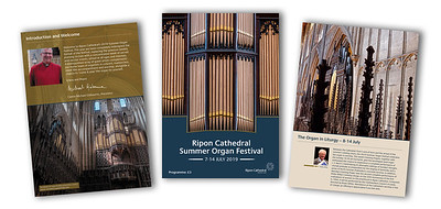 Ripon Cathedral Summer Organ Festival 2019 programme