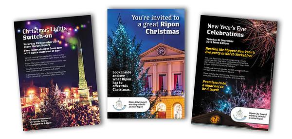 Ripon City Council Christmas 2019 brochure