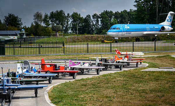 Small planes, big plane