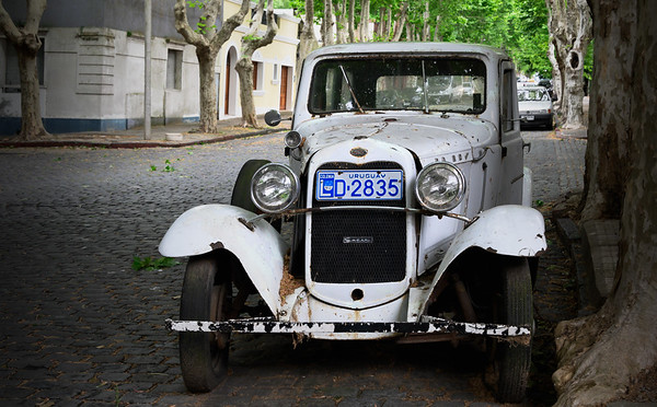 Old automobile