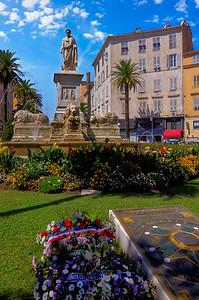Statue in Ajaccio