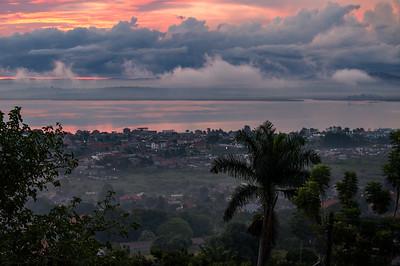 Dawn in Kampala