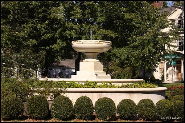 The Fountain - Ridgefield, CT