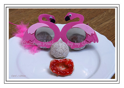 Donut Face - Greeting Card