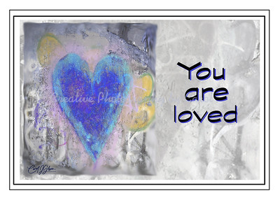 You are loved - Greeting Card