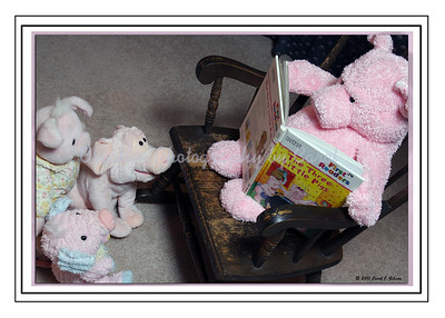 The Three Little Pigs story time-Greeting Card