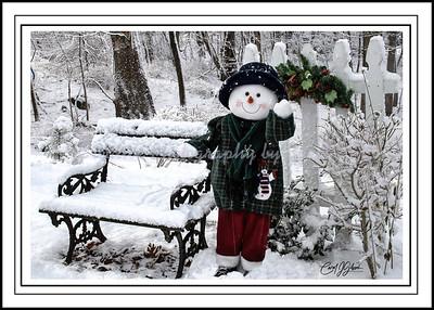 Jack the Snowman Waving