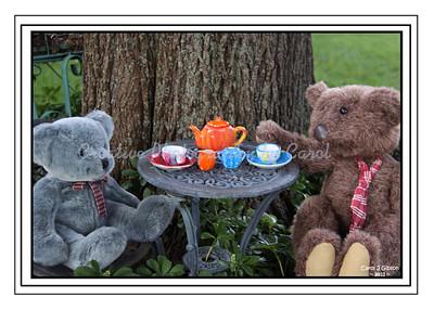 Teddy Bear Tea - Greeting Card