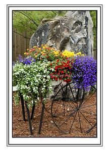 Flower Cart - Greeting Card