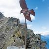 Top marker of the Kleine Ifinger peak
