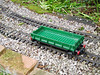 Playmobil green wagon