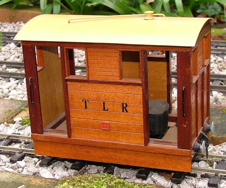 No.6 'Medway'. A Perfect World tram kit.