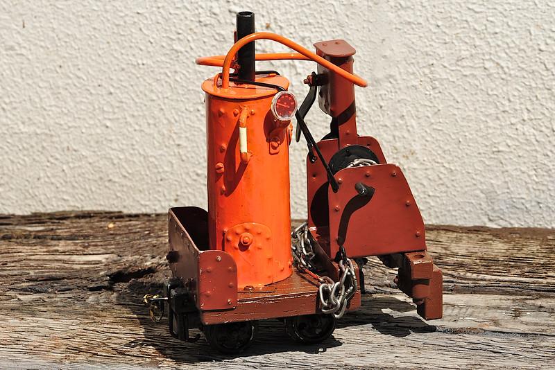 A Pretania steam winch