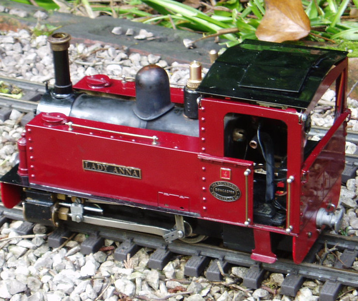 No.4 'Lady Anna'. A Roundhouse Charles Pooter.