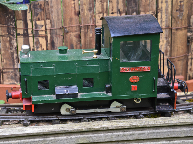 """No.7 """"Lord Warden'. My first large diesel, built by J D Models."""