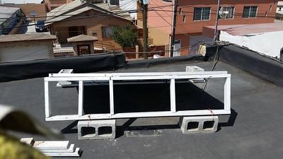 My roof solar for radios, etc.