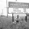 On bike trip to Pennsylvania with Jim Laird.