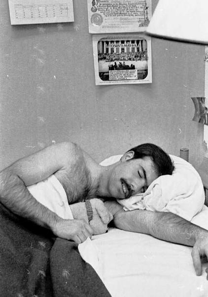 Brad, late 1971 in barracks.