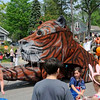 Go Tiger float !  At the Blossom Time parade.