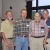 Members of the Senior Science Seminar, led by Neal Wheatcraft (third from right) - Bill Verduin, Brad, Ken Coryell, Neal Wheatcraft, Bob Lowe, John Blazer.