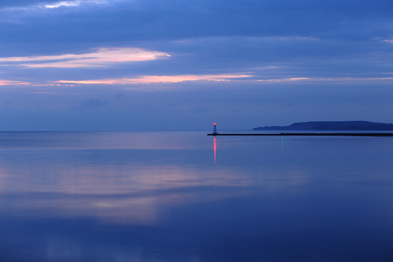 Sodus Point sunrise, Lake Ontario. DSC_1989
