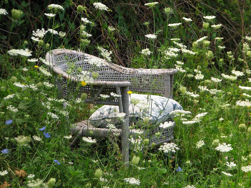 Summer seat, Walworth NY.