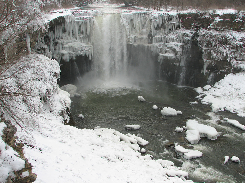 Buttermilk Falls, Leroy.