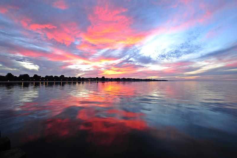 Sunset on Lake Ontario DSC_2741