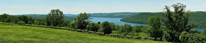 Keuka Lake panorama