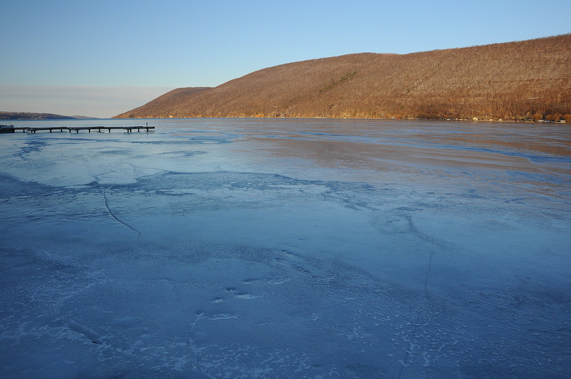 Canandaigua Lake frozen #3, Woodville NY.