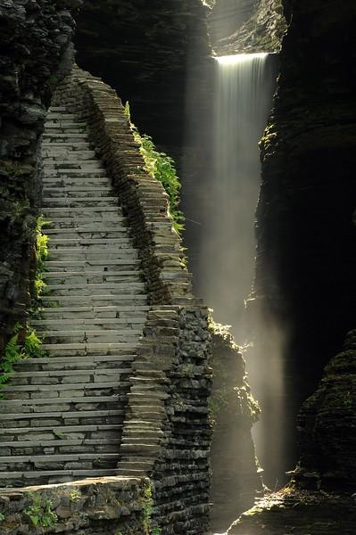 """'Stairway to Heaven 2"""", Watkins Glen."""