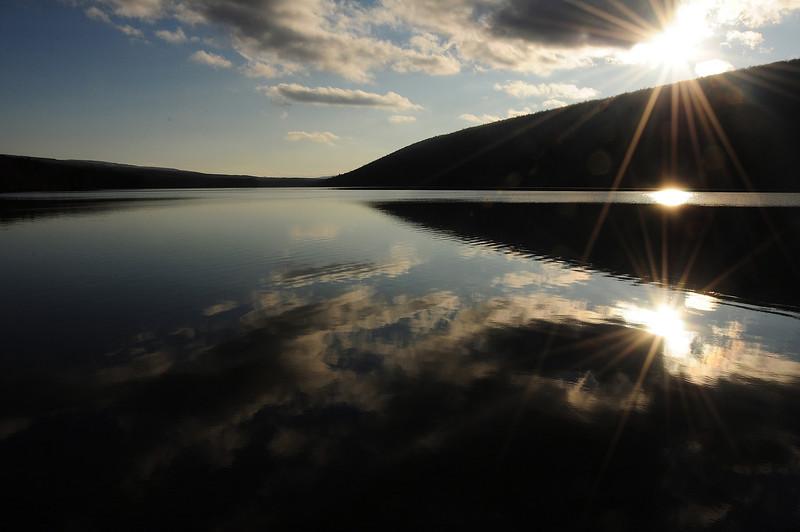 Canadice Lake sunset
