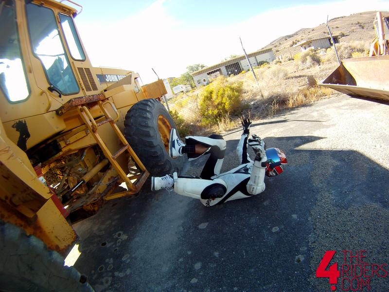 dove falls off tractor