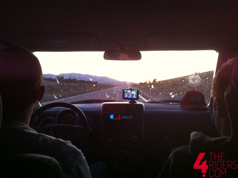 driving home from miller motorsports park