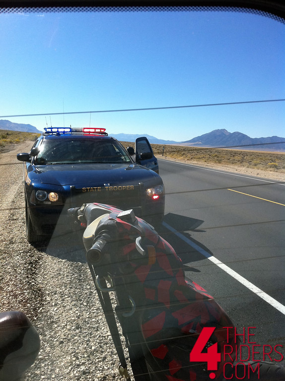 nhp pulled over ticket arrested