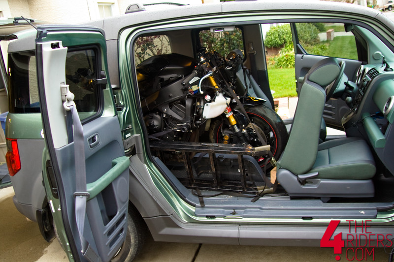 gsxr r6 inside honda element
