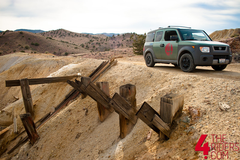 honda element sulphur mines