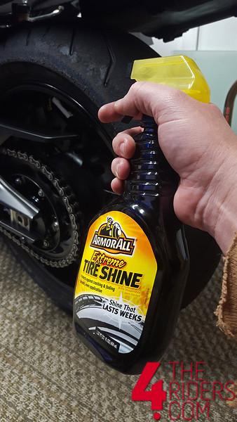tire shine armorall