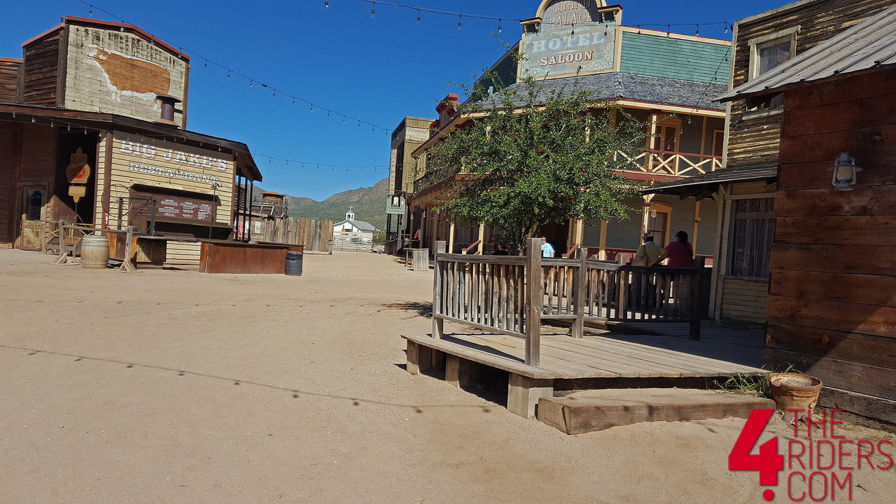 old tucson arizona movie set western