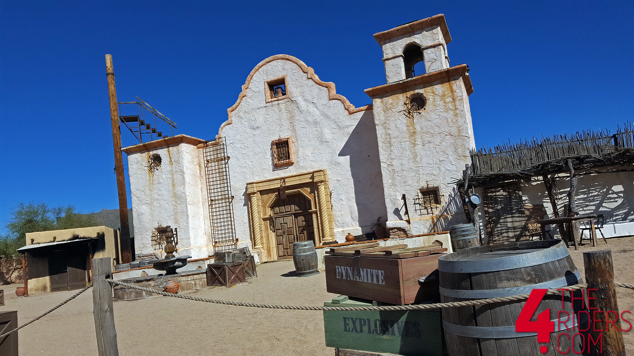 old tucson movie western set
