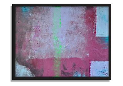 """Wylie Coyote"" - Acrylic on canvas - (60 cm x 80 cm)"