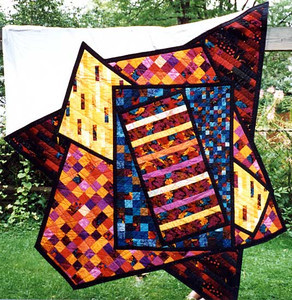 Images of Early Quilts and Artwork