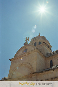 Church in Sibinik, Croatia.