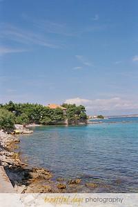 In Preko on the island of Ugljan off the coast of Zadar, Croatia.