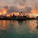 sunset konapier panorama111619sat
