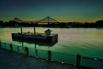 26/9/15 - Fireworks Barge