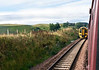 158736, 2T65, south of Gorebridge, Sun 25 September 2016 - 1013.  Crossing the 0945 Tweedbank - Edinburgh.