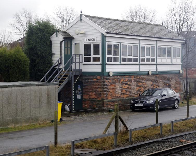 Denton signal box, Sat 26 February 2011 - 1004